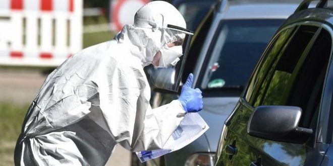 גרמניה: 346 בני אדם אובחנו כחולים ביממה האחרונה