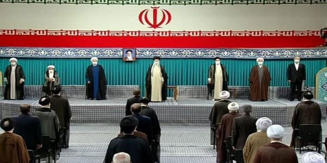 טקס קבלת הנשיא האיראני איבראהים ראיסי את תפקידו נפתח