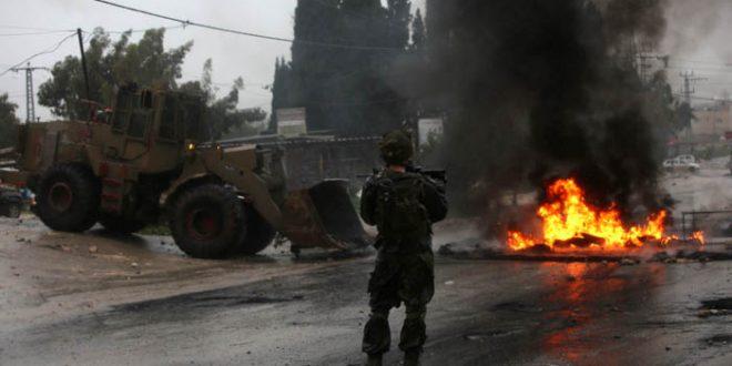 שני פלסטינים נפצעו מירי הכוחות הישראליים דרומית לג'נין