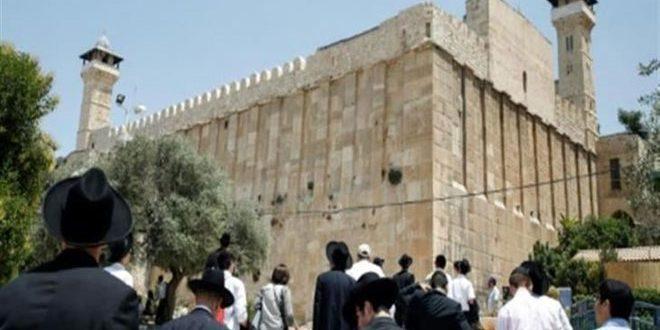 מאות מתנחלים פורצים למסגד האיבראהימי בחברון