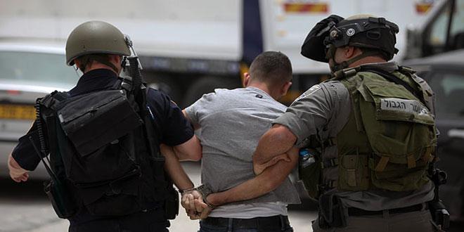 כוחות הכיבוש עצרו 6 פלסטינים בגדה המערבית