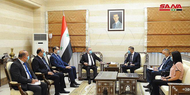 המהנדס ערנוס: יש לקדם את היחסים הסוריים-סרביים במשותף