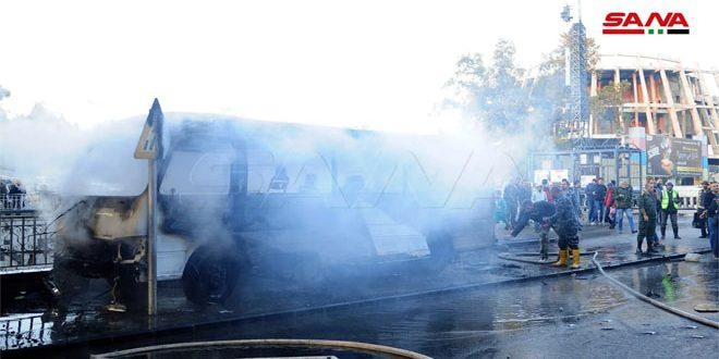 חזבאללה מגנה את מעשה הטרור שהיה בדמשק