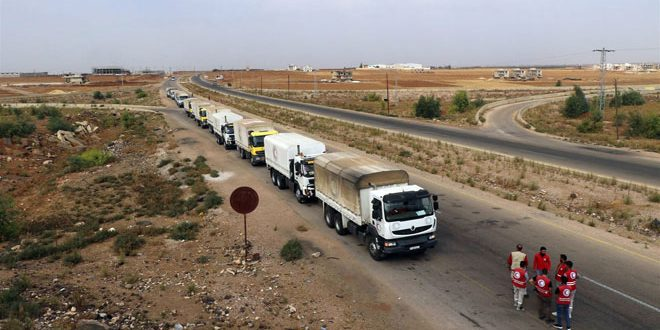 Для жителей провинции Дараа доставлено еще 6050 продовольственных наборов
