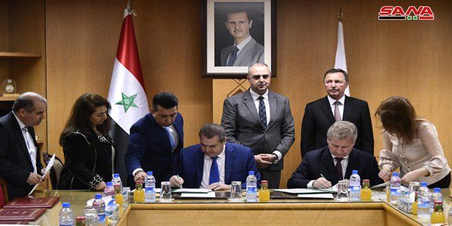 Сирия и Россия подписали меморандум о взаимопонимании с целью расширения сотрудничества в области защиты интеллектуальной собственности