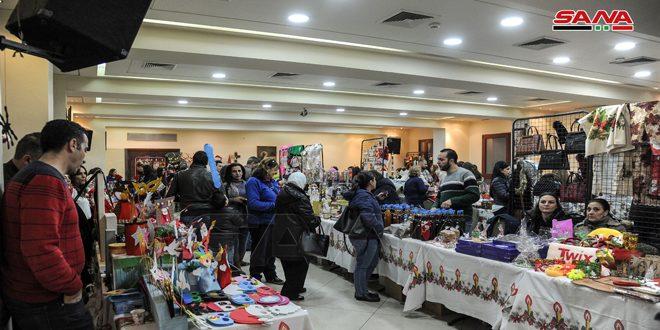 В Дамаске открылся еще один Рождественский базар