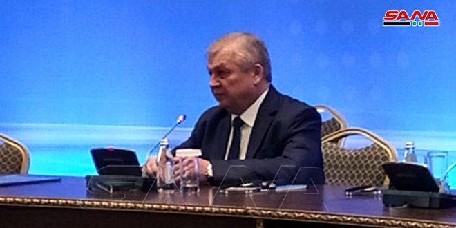 Лаврентьев: Незаконное присутствие США в Сирии недопустимо