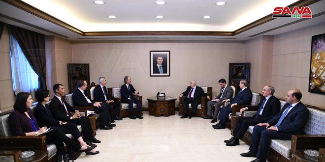 Аль-Муаллем и Педерсон указали на важность соблюдения правил работы Комитета по обсуждению Конституции