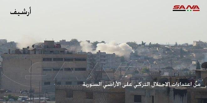 В провинции Хасаке наемники турецкого режима подожгли жилые дома граждан