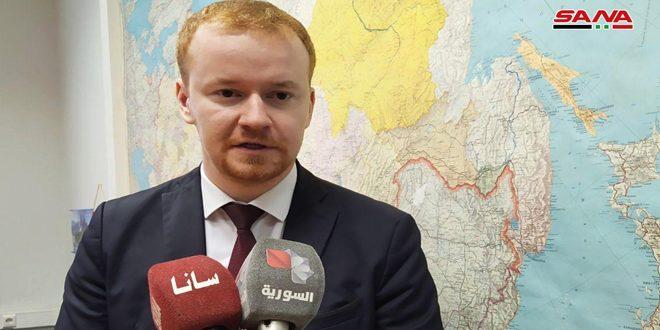 Российский парламентарий: Агрессивная политика Евросоюза в отношении Сирии раскрывает его сущность