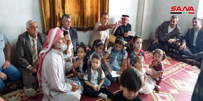 В Хан-Шейхун провинции Идлеб вернулись десятки семей