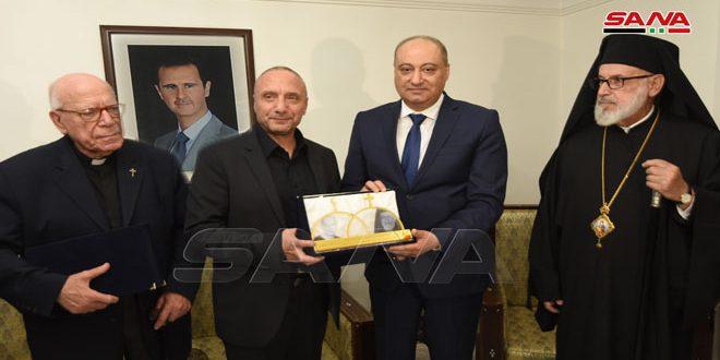 Министр информации САР высоко оценил работу съемочной группы телесериала «Страж Иерусалима»