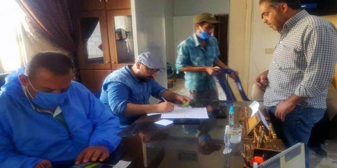 Местные власти продолжают обеспечивать нужды жителей поселка Ждейдет Аль-Фадль