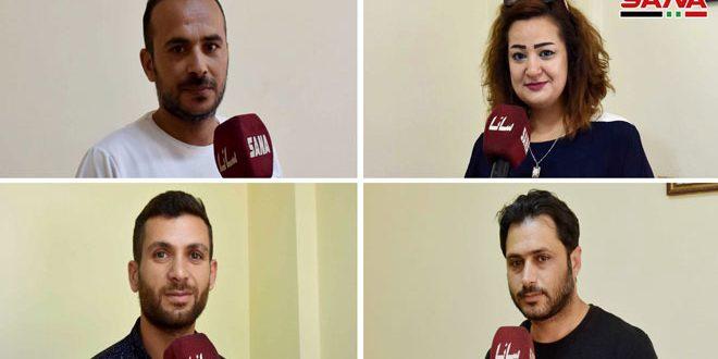 Спортсмены Хомса призывают принять активное участие в выборах в Народный совет САР