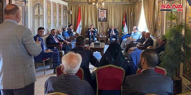 Делегация юристов Иордании осудила односторонние меры США, введенные в отношении САР