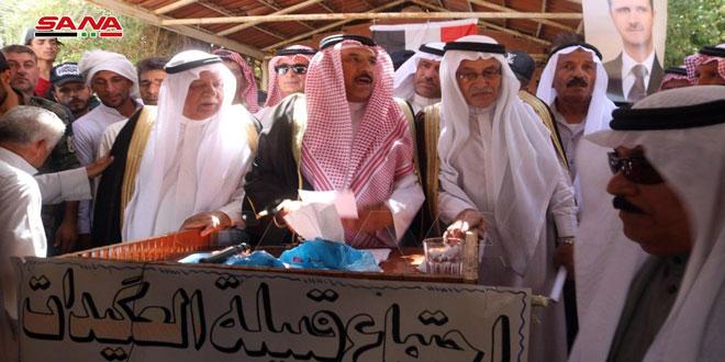 Старейшины Аль-Агейдат решили создать народное сопротивление для изгнания оккупантов и их пособников