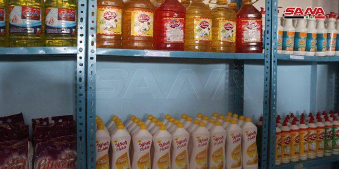 В провинции Дейр-эз-Зор открылись два новых магазина Сирийской торговой корпораци