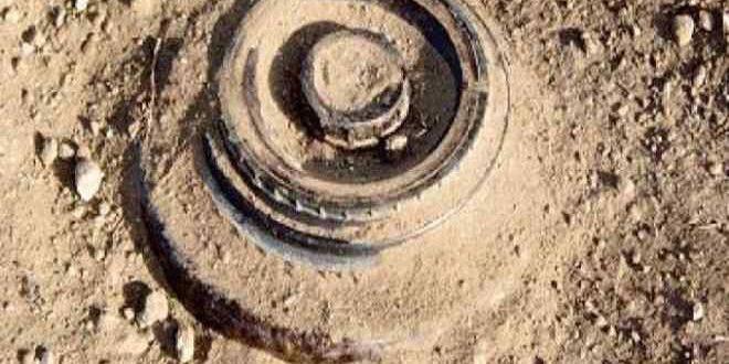 В поселке Карназ при взрыве оставленной террористами мины пострадал мирный житель