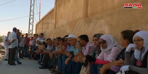 Группировки «Касад» пригрозили протестующим электрической компании в Хасаке оружием и арестами