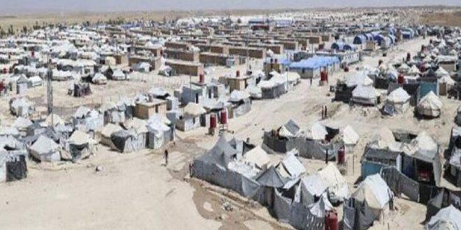 В Хасаке в контролируемом группировками «Касад» лагере «Аль-Холь» найдены тела двух женщин