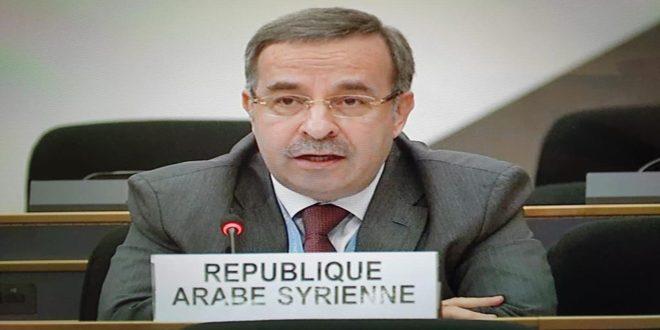 Аляа: Односторонние принудительные меры -причина сложной жизненной ситуации в Сирии