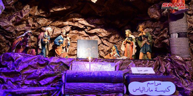 В церкви Ильяс Аль-Гьюр в квартале Ад-Дувейля в Дамаске состоялась открытие пещеры площадью 400 кв. м
