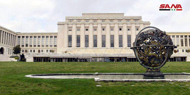 Национальная делегация в Женеве уделяет особое внимание гуманитарному вопросу и отмене незаконных санкций
