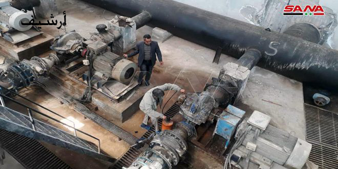 В провинции Хасаке возобновлена работа станции «Аллюк»