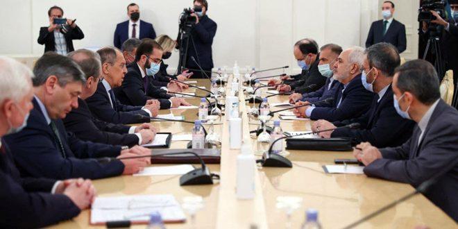 Лавров и Зариф подчеркнули необходимость политического урегулирования в Сирии