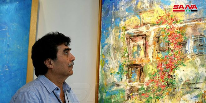 Выставка сирийского художника в Китае направлена на укрепление культурных связей между двумя народами
