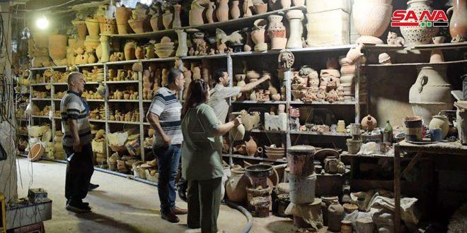 Традиционное гончарное ремесло в Алеппо