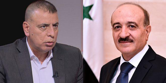 Ар-Рахмун обсудил по телефону со своим иорданским коллегой вопросы координации и сотрудничества