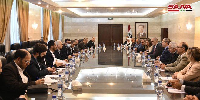 Аль-Мекдад принял председателя Комитета по национальной безопасности и внешней политике Совета Шуры ИРИ