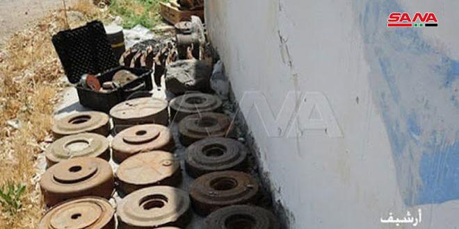 Трое детей подорвались на мине террористов в поселке Аш-Шариа на севере провинции Хама
