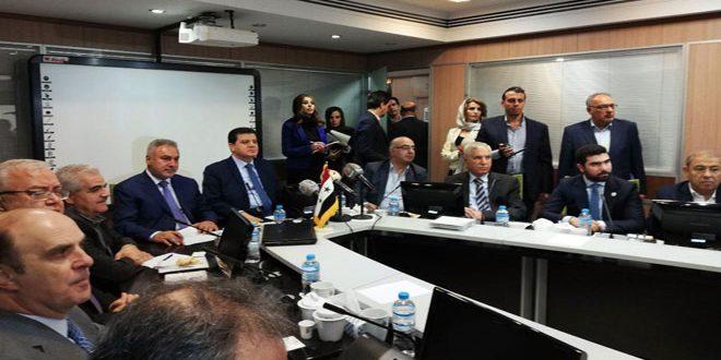 Suriye İran İşadamları Forumu Çalışmalarını Sürdürüyor