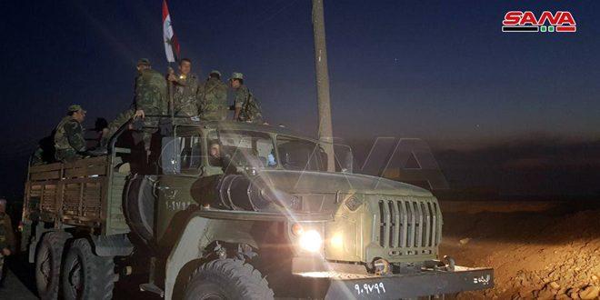 Ordu Türkiye Sınırında 200 km Kadar Uzunlukta Yeniden Konumlandı (VİDEO)