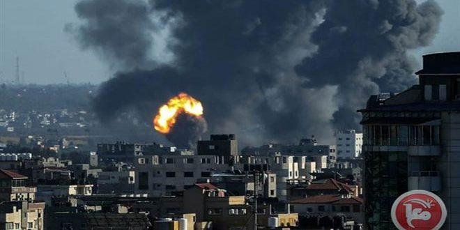 Gazze'ye Yönelik İşgalci İsrail Uçaklarının Süregelen Saldırılarında Şehit Sayısında Artış