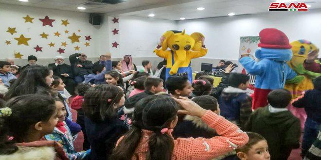 Homs Sevinci Noel Festivali Faaliyetleri Kapsamında 100 Yetim Çocuk İçin Tören Düzenlendi