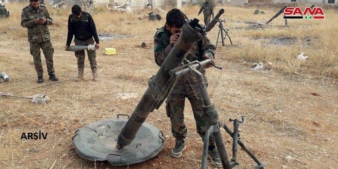 Halep Güneybatı Kırsalındaki Terör Örgütleri Yuvaları Hedef Alındı Çok Sayıda Terörist Öldürüldü
