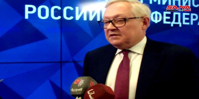Ryabkov, BMGK'nden ABD'yi Suriye'de Meşruluk Verecek Karar Çıkamayacak