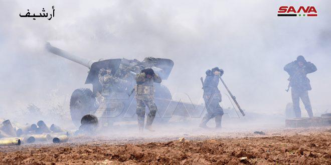 Ordu Terörist Örgütlerin İdlib Güneydoğu Kırsalı Abu Cureyf Eksenine Yönelik Teröristlerin Saldırısını Çökertti