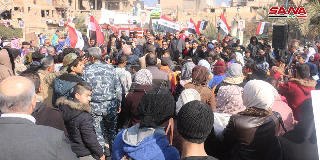Deyrezzor Ahalisi Ordu'nun Halep'teki Zaferini Kutladı