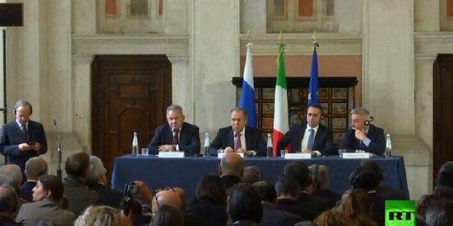 Lavrov, Suriye'de Arta Kalan Terör Yuvalarının Bitirmesi Gerekiyor
