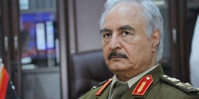 Hafter: Erdoğan Bunaktır, Tüm Libya Topraklarının Kurtuluşuna Kadar Terörle Savaşı Sürdüreceğiz