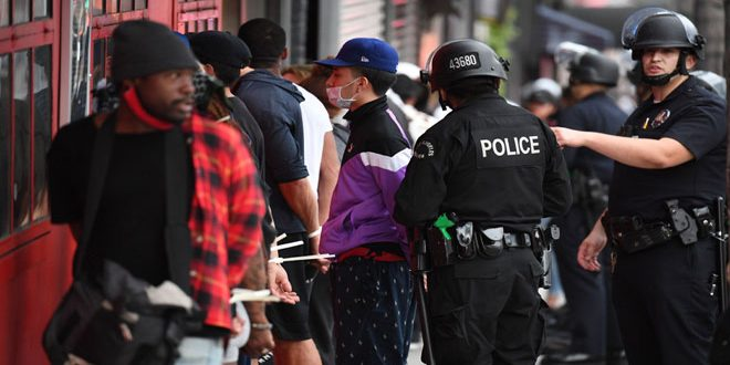 Amerikan Polisi, ABD'de Protestoların Başlamasından Bu Yana 9 Bin'den Fazla Kişiyi Tutukladı