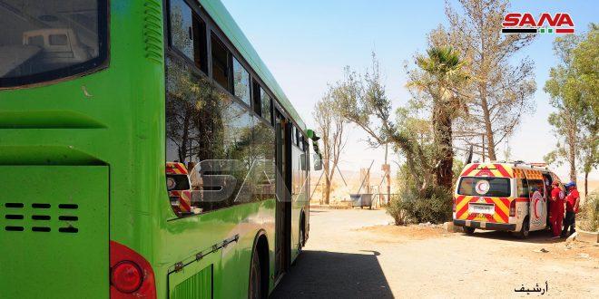 El Rukban Kampı'nda Alıkonanların Bazıları Döndü