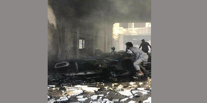 Rasuleyn kentinde Bir Aracın Patlamasıyla 2 Çocuk Şehit 3 Sivil De Yaralı Oldu