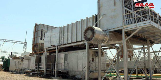 El Teyyim Elektrik Üretimi İçin 2. Gaz Mecmuası Hizmete Geçirildi