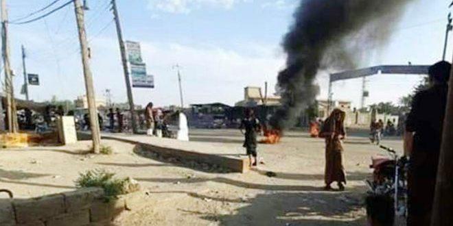 """Hevayic Köyündeki Göstericilere """"DSG"""" Gruplarının Saldırısı Sonucunda 3 Sivil Yaralandı"""