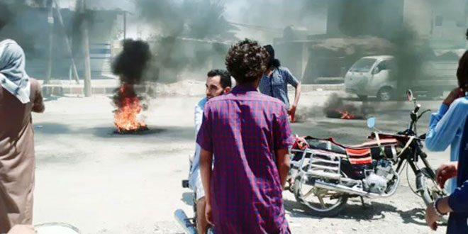 Amerikan İşgalinden Destekli DSG Grupları Deyrezzor Kırsalındaki Şiheyl, Huveyj, Ziban ve Basira Beldelerine Kuşatma Uyguladı
